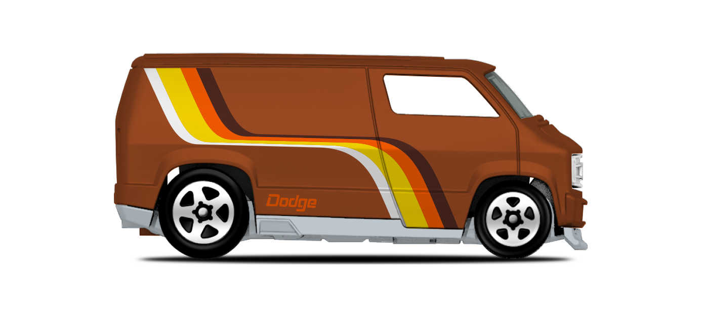 Custom 77 Dodge Van