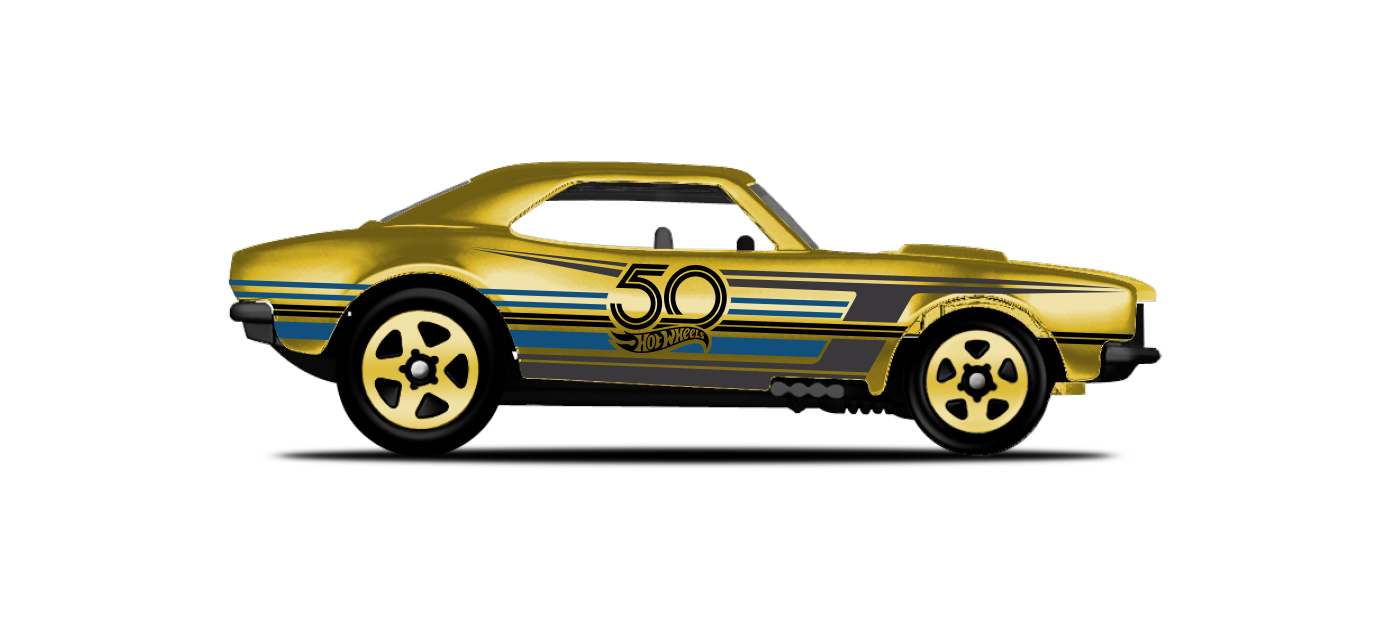 Hot Wheels 50th Anniversary Car Collection